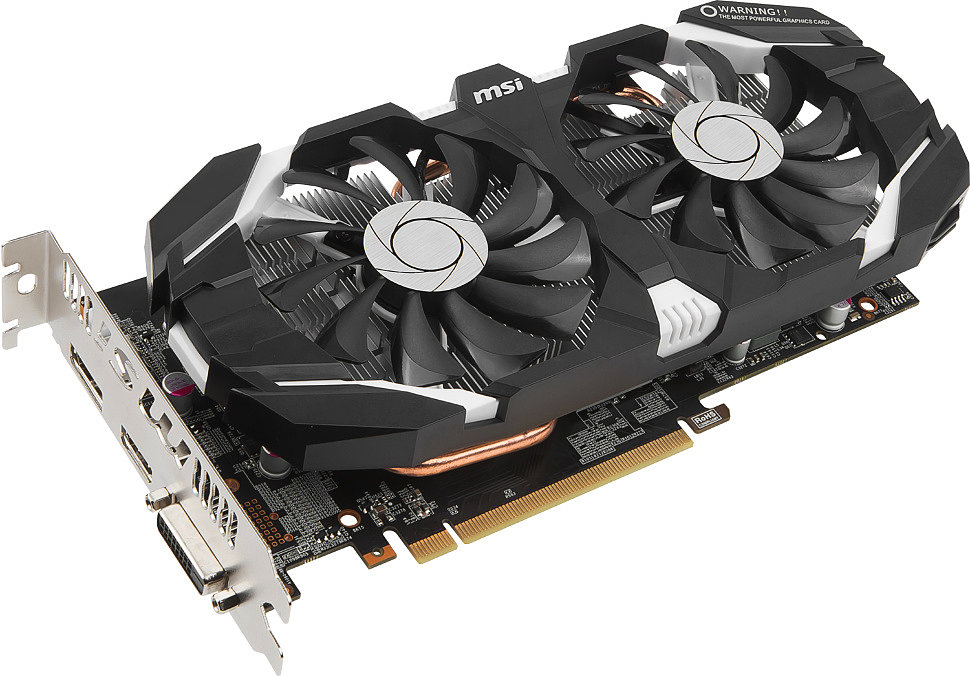 MSI Geforce GTX 1050 ti 4gt