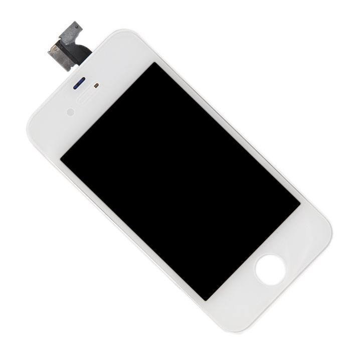 Дисплей для Apple iPhone 4S в сборе с тачскрином (AAA), белый