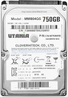 "Жесткий диск HDD 2.5"" SATA-III UTania 750Gb 8Mb 5400 rpm"