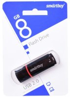 Флешка USB Smartbuy 8GB Crown Black (SB8GBCRW-K)