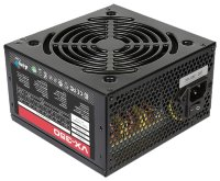 Блок питания Aerocool 350W Retail VX-350 ATX v2.3 Haswell, fan 12cm, 450mm cable, power cord, 20+4P/4+4P/SATA x2 /MOLEX x2/FDD
