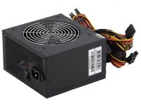 Блок питания HiPRO ATX 600W HPA600W 120mm fan, APFC, 3*SATA, I/O switch