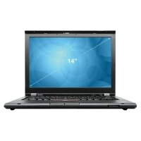 "Ноутбук RFB Lenovo ThinkPad T430 14"" (1366x768), i5-3320M (2.6-3.3GHz), 4Gb(to 16Gb), SSD 180Gb, Intel HD 4000, DVDRW, WiFi, BT, Cam, Win10 Pro, гар.12 мес."